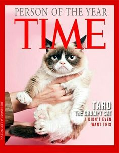 Grumpy Cat Is Person of the Year #Time
