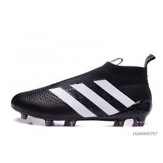 Best Adidas ACE 16 Purecontrol FG-AG Black White Buy Adidas ACE e121def806d04