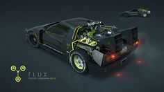 F40 time machine on Behance