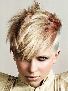 Choppy Mohawk Hair Style