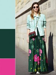 9 Ways to Finally Embrace More Color This Spring via @WhoWhatWear