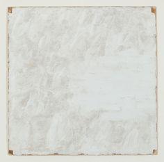 Robert Ryman, Surface Veil, 1970  Oil paint on fiberglass on featherboard  50,8 × 50,8 cm | 20 × 20 inches
