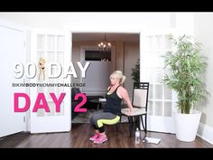 DAY 2: Bikini Body Mommy 90 Day Challenge. I'm a puddle on the floor but it's done!