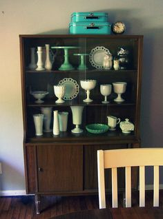 Saving up for a Mid-Century Modern China Hutch -- I am going to need it! Inheriting a LOT of china.