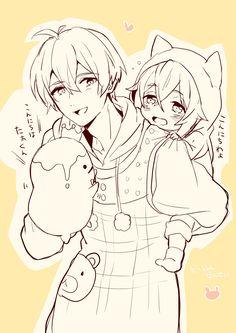 逢坂壮五 四葉環 Cute Anime Boy, Anime Guys, Manga, Tokyo Ghoul, Fangirl, Idol, Kawaii, Animation, Draw