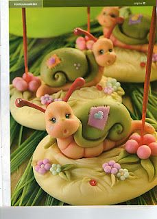 how to make this cute little #snail