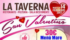 San Valentino Da La Taverna - Menù Mare http://affariok.blogspot.it/