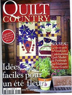 SOoo great - country quilt - Poli patch - Picasa Webalbumok + other books wow. Colchas Country, Country Quilts, Country French, Quilt Block Patterns, Applique Patterns, Quilt Blocks, Quilting Projects, Quilting Designs, Quilting Ideas