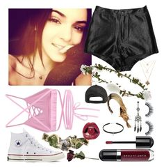 """""""Ignore unless tagged"""" by gracieandizzianons ❤ liked on Polyvore featuring Cosabella, Børn, Marc Jacobs, Converse, Billabong, ...Lost, Accessorize and Forever 21"""