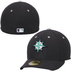 Seattle Mariners New Era Low Crown Diamond Era Performance 59FIFTY Fitted  Hat - Navy Blue 9059b6933acf