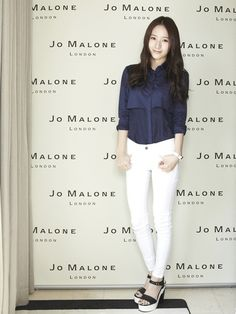 looks the best in white jeans