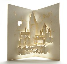 This Hogwarts pop-up is truly a work of art!