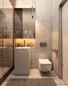 Bathroom Niche: Learn How To Choose And See Ideas With Photos - Home Fashion Trend Modern Bathroom Faucets, Glamorous Bathroom, Bathroom Niche, Bathroom Toilets, Bathroom Layout, Small Bathroom, Washroom, Bathroom Storage, Best Bathroom Designs