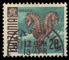 Tanzania Sea Horses 20c 1967