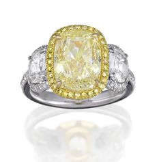 FANCY YELLOW DIAMOND RING, Sotheby's Australia Auctions, Calender, Australian Auctioneers