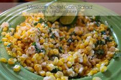 Mexican Street Corn Salad | Kathy's Kitchen Table