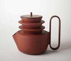 Aureola tea set by Luca Nichetto and Lera Moiseeva, from sightunseen.com