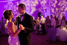 Bride And Groom At The Founders Inn Spa Blue Steel Lighting Design