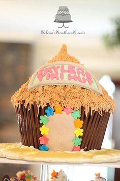 84c45acf348fe078ec2a99f075690a05 hawaiian cakes tiki hut luau tiki hut cake cakeage pinterest tiki hut, luau and cake