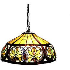Tiffany-style Hanging Lamp - Overstock™ Shopping - Great Deals on Warehouse of Tiffany Tiffany Style Lighting