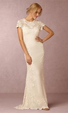 BHLDN Lotus Threads Jade wedding dress currently for sale at 44% off retail.