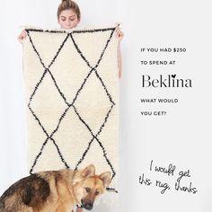 Moroccan Berber rug at Beklina