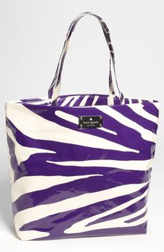 kate spade new york 'daycation' coated canvas bon shopper available at Nordstrom