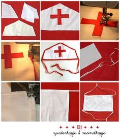 zelf een zusterkapje maken, verkleedkostuum kinderen patroon Sewing Projects For Kids, Sewing For Kids, Diy For Kids, Kids Lab Coat, Diy Doctor, Doctor Costume, Kids Dress Up, Preschool Learning Activities, Dramatic Play