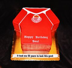 Soccer Jersey Cake by Simply Sweet Creations