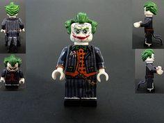 Lego Custom Minifigures, Lego Minifigs, Lego People, Cool Lego, Awesome Lego, Arkham City, Lego Figures, Lego Dc, Lego Models