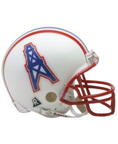 Riddell Houston Oilers Mini Helmet