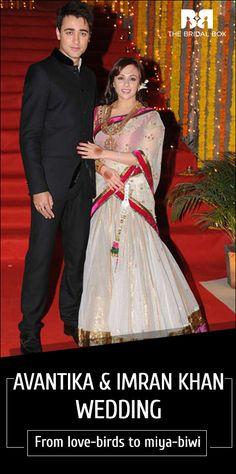 Avantika & Imran Khan Marriage – From Love-Birds To Miya-Biwi
