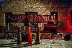 Η ΚΟΚΚΙNΙΑ ΜΑΣ: Μια όμορφη βραδιά μνήμης, στην Μάντρα του Μπλόκου ... Blog, Painting, Painting Art, Blogging, Paintings, Drawings