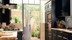 8 plans de cuisine parallèle (face à face)