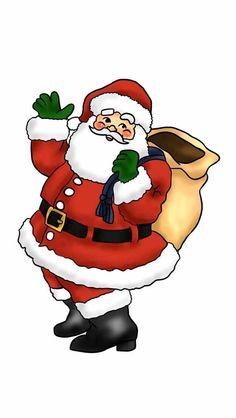 christmas santa clipart photos schimmel stitches pinterest rh pinterest co uk santa clip art images free santa clipart pictures
