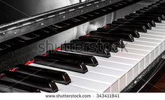 #closeup #classic #piano #keyboard