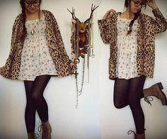 Oh deer  (by Diana  DeMarino) http://lookbook.nu/look/1167883-oh-deer