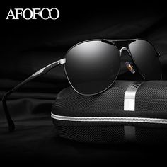AFOFOO Men's HD Polarized Sunglasses Classic Brand Designer Men Driving Sun glasses Male Mirror UV400 Shades Goggle Eyewear  #me #men #style #graduation #wallets #selfie #smartwatch #sunshades #followme #money #photooftheday #kids #love #sale #wedding