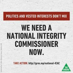 Sign the petition: http://grns.mp/national-ICAC  #australia   #auspol   #icac