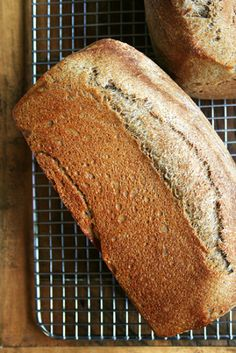 Recipes: Vanilla-Almond Biscotti, Granola, Salted Oatmeal Cookies & Healthy Honey Whole Wheat Toasting Bread, via Alexandra's Kitchen