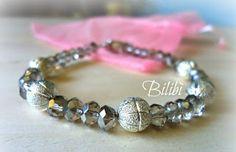 Bilibì: braccialetto cristalli e argento