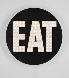 eat marquee sign for kitchen