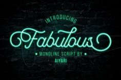 Fabulous by Aiyari on @creativemarket