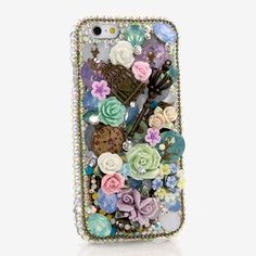 Bling Cases, Handmade 3D crystals design case for iphone 5, iphone 5s, iphone 6, Samsung Galaxy S4, S5, Note 2, Note 3, LG, HTC, Sony – LuxAddiction.com