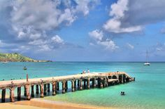One of my favorite parts of St. Martin....the pier in Grand Case....