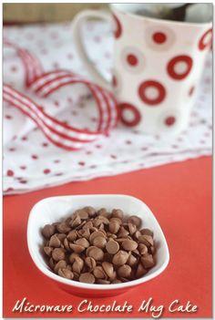 2min Eggless Microwave Chocolate Mug Cake