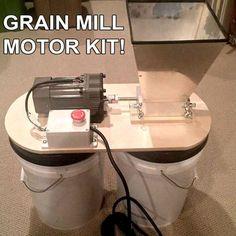 Home Brewing Grain Mill Motor Kit