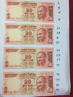 An Awesome tambola game for kitty party. Host need to paste 4 artificial notes of rs.50 or 20 on A4 sheets. Then host need to write 5 housie numbers below or on side of each note. Host need to make these A4 papers half the number of members. Suppose there are 20 members in your…