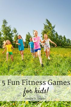Kids Health These 5 fun exercises for kids are great for encouraging kids to be active in a creative way! These physical activities and fitness games are perfect for gym teachers, elementary school teachers, or parents to use with children. Fitness Games For Kids, Gym Games For Kids, Physical Activities For Kids, Exercise Activities, Kids Gym, Nutrition Activities, Fitness Activities, Exercise For Kids, Kids Nutrition