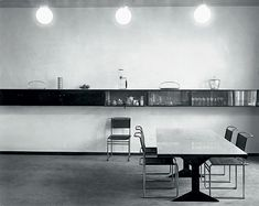 Erwin Piscator Berlin apartment, designed by Marcel Breuer, 1926 Marcel Breuer, Bauhaus Interior, Bauhaus Furniture, Renzo Piano, Interior Exterior, Interior Architecture, Architecture Images, Interior Livingroom, Sustainable Architecture